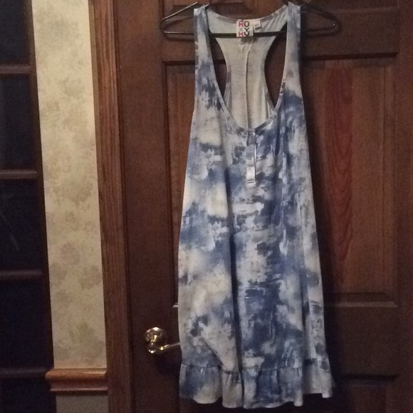 Roxy Other - Roxy, Blue/white colored sundress/cover-up!